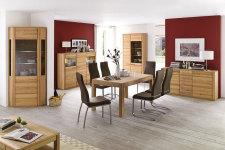Jídelní židle NELA II. v interieru_mix s židlí NELA_hnědá_obr. 7