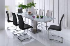 Jídelní stůl HELION v interieru, rozložený (3)