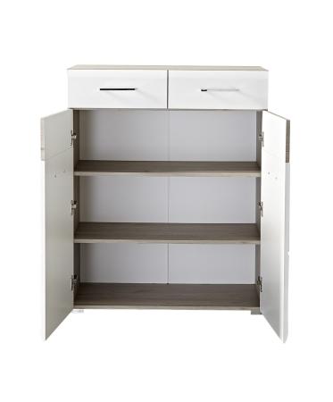 Předsíňový nábytek FUNNY_typ 11_skříňka na boty_šikmý pohled_otevřená_obr. 8