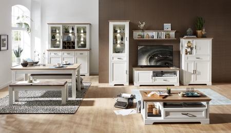 Obývací / jídelní nábytek JASPER_ob. sestava 10 G9 UH 80 + typ 84 + konf. stůl 20 G9 UH 02 + jídelní stůl 20 G9 UH 01 + 2x lavice 20 G9 UH 03_obr. 3