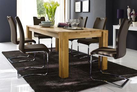 Jídelní židle KARIA hnědá v interieru_obr. 13