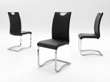 Jídelní židle KARIA černá_pohledy_obr. 17