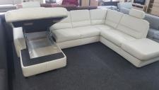 Kožená sedací souprava ANDORRA_výklopný úložný prostor_foto prodejna_obr. 2
