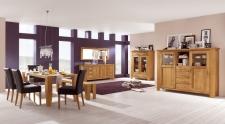 Obývací a jídelní nábytek LOFT_divoký dub natur masiv_obr. 10