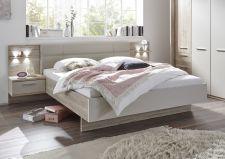 Ložnicový nábytek PORTO_ postelový komplet s nočními stolky, panely a LED osvětlením_ obr. 4
