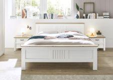 Ložnicový nábytek TRENTO_ postel s nočními stolky_ čelní pohled_ obr. 8
