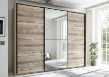 Šatní skříň s posuvnými dveřmi RIVER 58-591-U8 + okrasný rám 58-593-U8_obr. 5