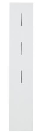 Šatní panel MESSINA_typ 30 96 WD 40_se sklapovacími háčky_obr. 28