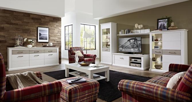 MODENA - obývací stěna + sideboard