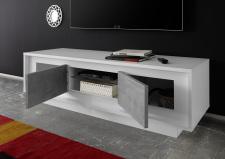 TV-element MONDE  201793-01C_bílý matný lak-beton_otevřený_obr. 23