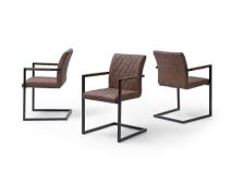 Jídelní židle MONDANO hnědá_obr. 3