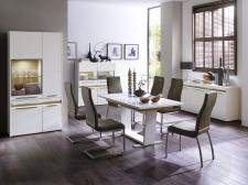 Jídelní židle NELA v interieru_mix s NELA II._obr. 3