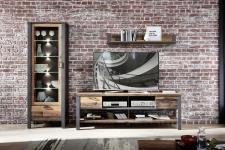 Obývací a jídelní nábytek CARTAGO _sestava  10 G3 VV 83_ čelní pohled_ obr. 7