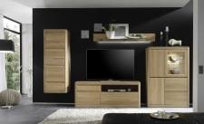 Obývací nábytek DENVER_sestava 941_dub bianco masiv