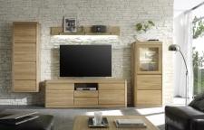 Obývací nábytek DENVER_sestava 945_dub bianco masiv