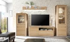 Obývací nábytek DENVER_sestava 952_dub bianco masiv
