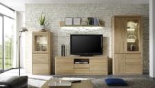 Obývací nábytek DENVER_sestava 984_dub bianco masiv