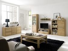 Obývací a jídelní nábytek FLORENZ_ob. sestava 405235 + lowboard 47 + konferenční stůl 50_možnost volitelného LED osvětlení