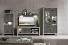 Obývací a jídelní nábytek GRACE _ ob. sestava  z typů 40 54 3T..  07 + 30 + 02 + 40 + 06_ čelní pohled_ obr. 6