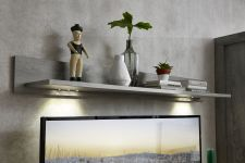 Obývací a jídelní nábytek GRACE _ závěsná police  40 54 3T 40_  čelní pohled_  obr. 23