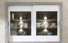 Obývací a jídelní nábytek GRACE white _ buffet - nástavec 40 54 3W 22_  čelní pohled_ obr. 18
