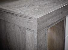 Obývací a jídelní nábytek GRACE white _ detail provedení korpusu_  obr. 26
