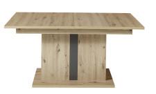 Jídelní stůl LAMIA graphite 20 J4 GH 01 _ čelní pohled_ obr. 40