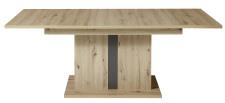 Jídelní stůl LAMIA graphite 20 J4 GH 01 _ čelní pohled_ rozložený_ obr. 41