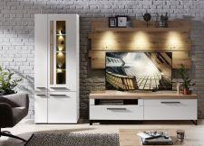 Obývací a jídelní nábytek LAMIA white _sestava 10 J4 WH 81_čelní pohled _obr. 5