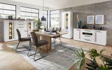 Obývací a jídelní nábytek LAMIA white _ jídelna 2 _obr. 12