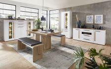 Obývací a jídelní nábytek LAMIA white _ jídelna 6 _obr. 16