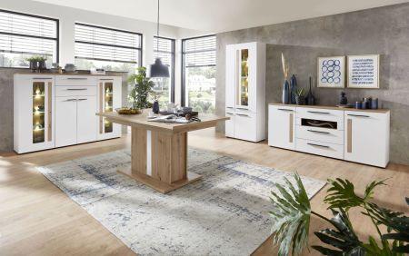 Obývací a jídelní nábytek LAMIA white _ jídelna 7 _obr. 17