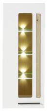 Závěsná vitrina LAMIA 10 J4 WH 10_ čelní pohled_ obr. 26