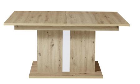 Jídelní stůl LAMIA 20 J4 WH 01_ čelní pohled_ obr. 46