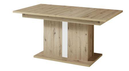 Jídelní stůl LAMIA 20 J4 WH 01_ šikmý pohled_ obr. 48