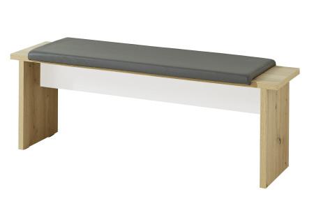 Jídelní lavice LAMIA 20 J4 WH 03_ šikmý pohled_ obr. 52
