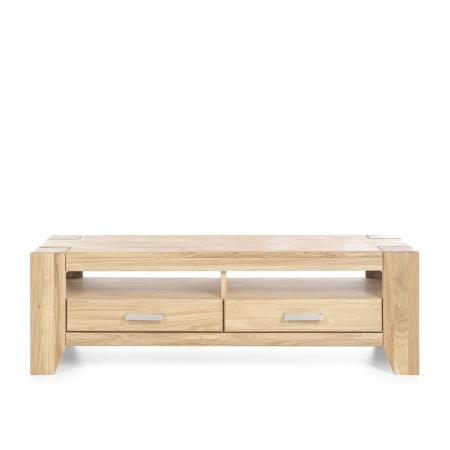 Masivní nábytek LOFT_TV lowboard typ 19_čelní pohled