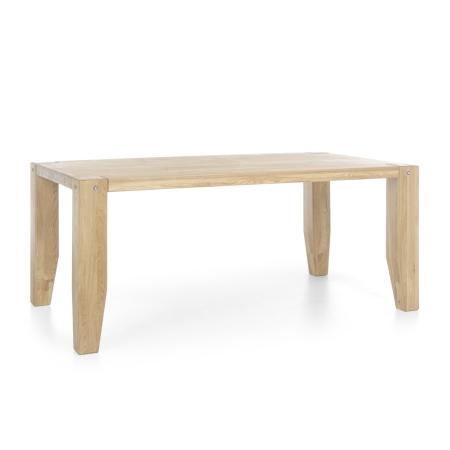 Masivní nábytek LOFT_jídelní stůl_šikmý pohled