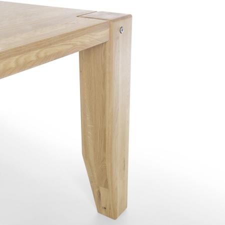 Masivní nábytek LOFT_jídelní stůl_detail 1