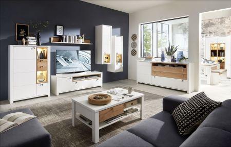 Obývací nábytek NIZZA _ob, sestava 10 G8 WF 80 + sideboard 20 + konferenční stůl 20 G8 WF 02_obr. 2