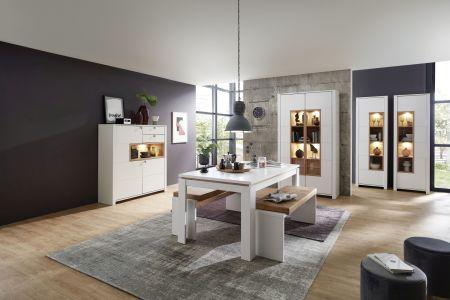 Obývací a jídelní nábytek NIZZA _volná sestava nábytku _jídelna_ obr. 9