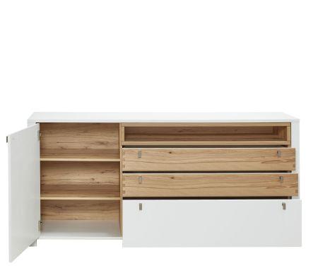 Sideboard NIZZA 10 G8 WF 20_ čelní pohled _ otevřený_ obr. 31