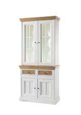 Obývací a jídelní nábytek PALLADIUM_příborník úzky s vitrinou (buffet) 40 11 04_volitelné LED osvětlení_obr. 5
