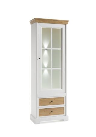 Obývací a jídelní nábytek PALLADIUM_vitrina 13_volitelné LED osvětlení_obr. 10