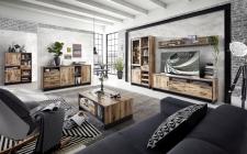 Obývací a jídelní nábytek PRISMA _ob, sestava 10 J7 KG 81 + sideboard 20 + highboard 06 + konferenční stůl 20 J7 KG 02_obr. 2