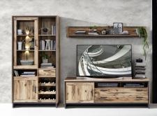 Obývací a jídelní nábytek PRISMA _ob. sestava 10 J7 KG 81_přední pohled_ obr. 5