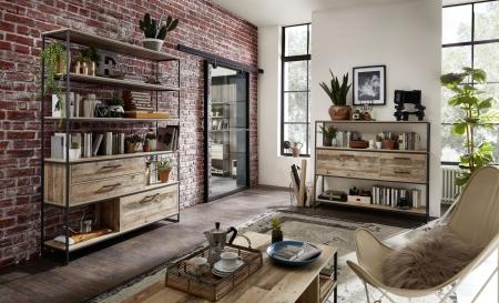 Obývací a jídelní nábytek RIVER_obývací pokoj_volná sestava_obr. 2