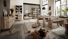 Obývací a jídelní nábytek RIVER_jídelna_volná sestava_obr. 6
