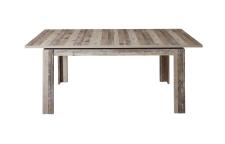 Jídelní rozkládací stůl RIVER 20 H2 RR 01_rozložený na 200 cm_čelní pohled_obr. 38