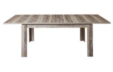 Jídelní rozkládací stůl RIVER 20 H2 RR 01_rozložený na 240 cm_čelní pohled_obr. 40